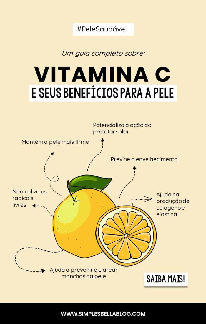 VITAMINA C: Quais são os benefícios para a pele? (GUIA COMPLETO)