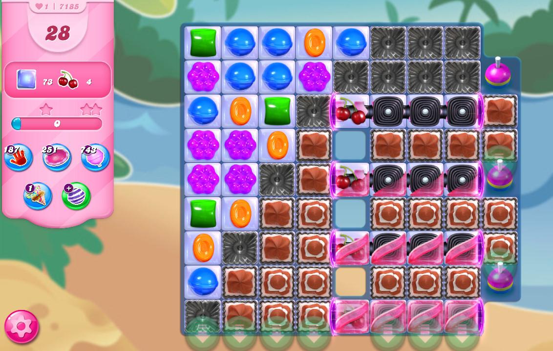 Candy Crush Saga level 7185