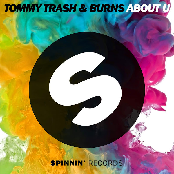 Tommy Trash & BURNS - About U - Single  Cover