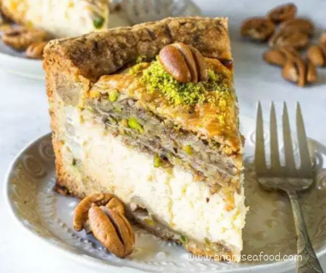 Delicious Baklava Cheesecake Recipe