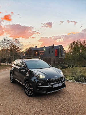 Kia Sportage Kunjani Wines Sunset
