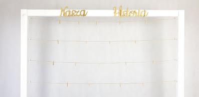 ramka na zdjęcia wypożyczalnia dekoracji rzeszów ślubnażyczenie