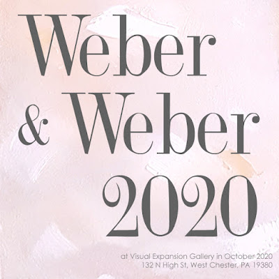 Weber & Weber 2020 two-person show at Visual Expansion Art Gallery