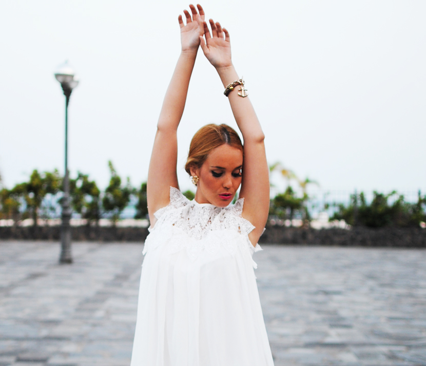 chicwish, chicwish blogger, SNB, nery hdez, white dress