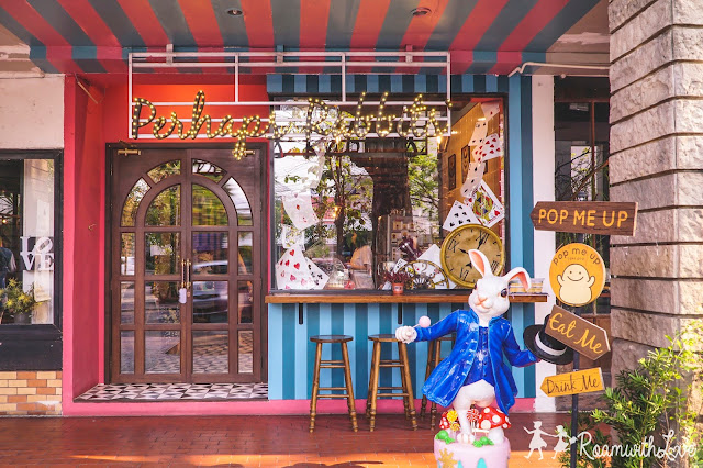 cafe, review, bangkok, สวีท, รีวิว, ร้านกาแฟ, ชีสเค้ก, cafe, คาเฟ่, perhaps rabbits, Alice in Wonderland, อลิซ, วันเดอร์แลนด์, เค้ก, กาแฟ, ขนมหวาน, กระต่าย