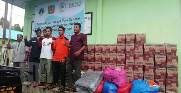 TASK Hidayatullah Salurkan 3 Ton Bantuan ke Halmahera
