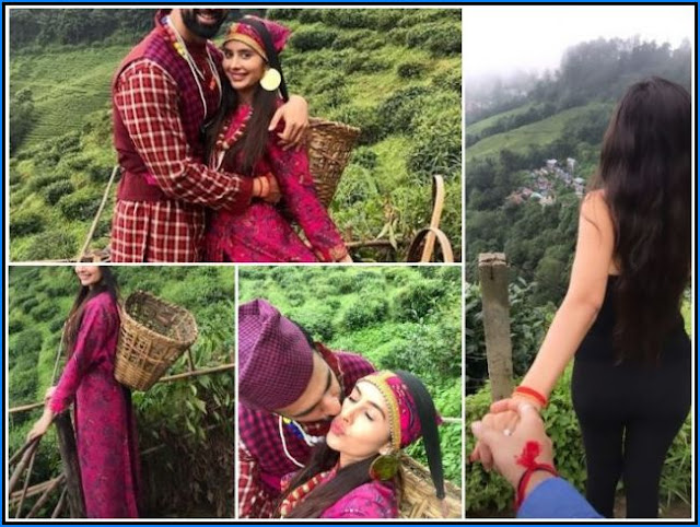 TV Actress Charu Asopa, Rajeev Sen Get Romantic In Tea Garden Darjeeling Pre-Honeymoon Trip