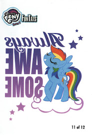 MLP Tattoo Card 11 Series 4 Trading Card