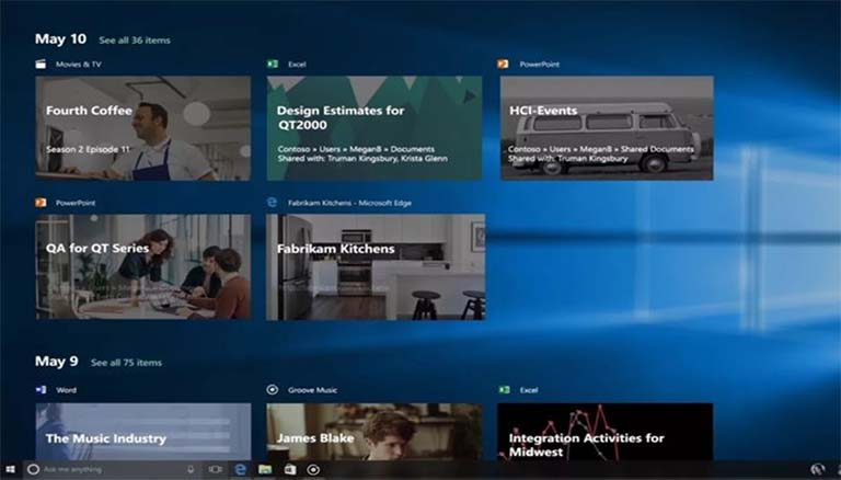 Ini Yang Microsoft Kerjakan Untuk Timeline Windows 10 Dengan Edge Baru
