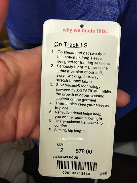 lululemon on-track-ls