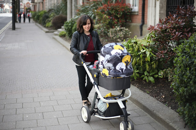 stylish pram