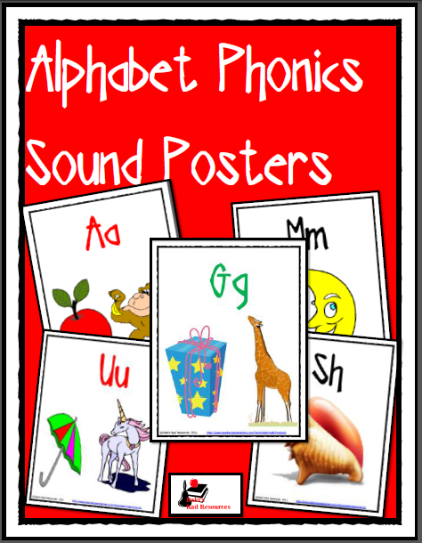 FREE Alphabet sound posters to build your students' phonics skills from Raki's Rad Resources.