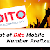 List of DITO Mobile Number Prefixes