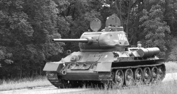 Tank T-34 Uni Soviet