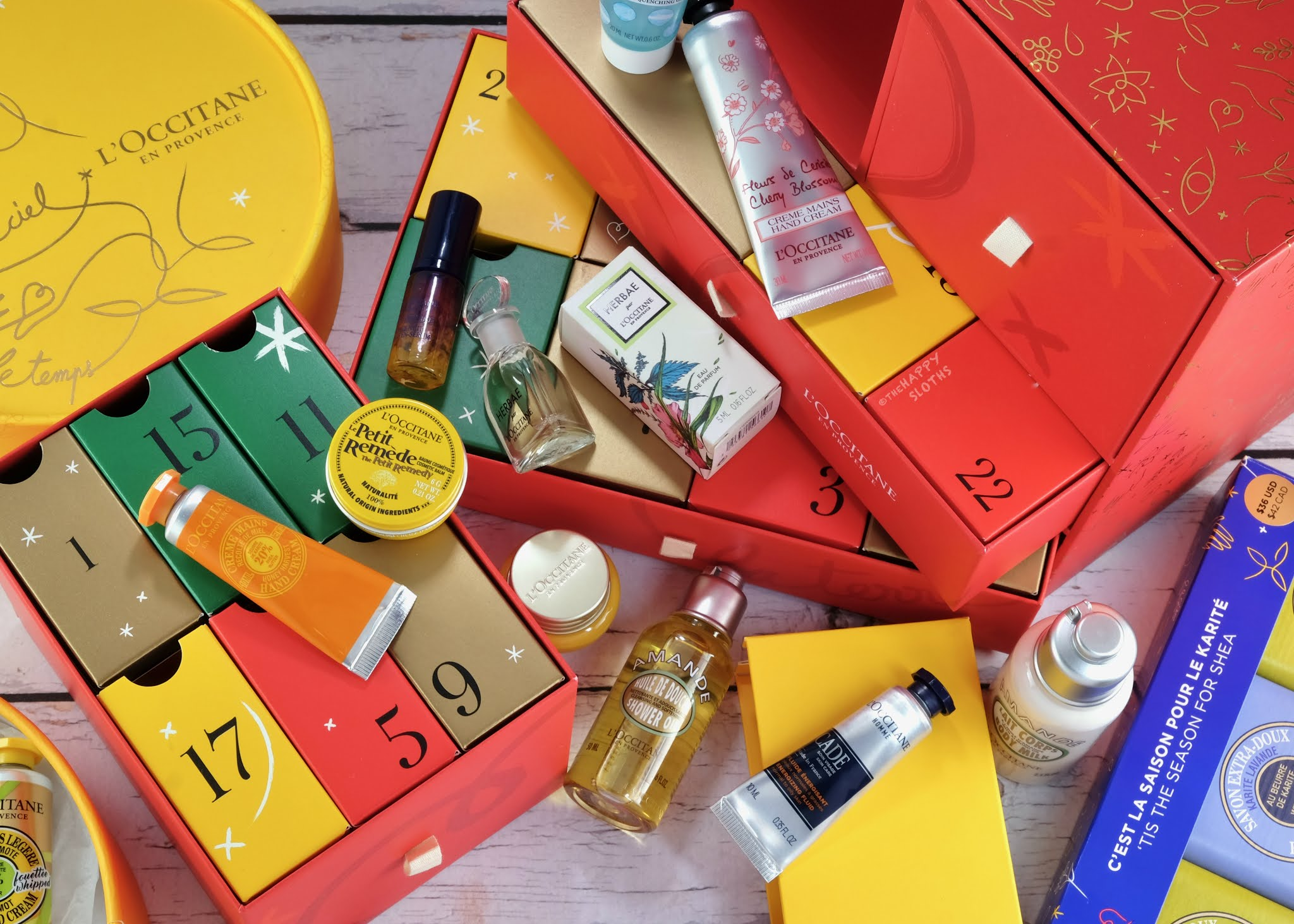 L'Occitane | Holiday 2020 Premium Advent Calendar (C$124)