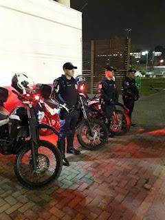 GCMs de Barueri garante policiamento de frequentadores do Complexo Esportivo da Vila Porto