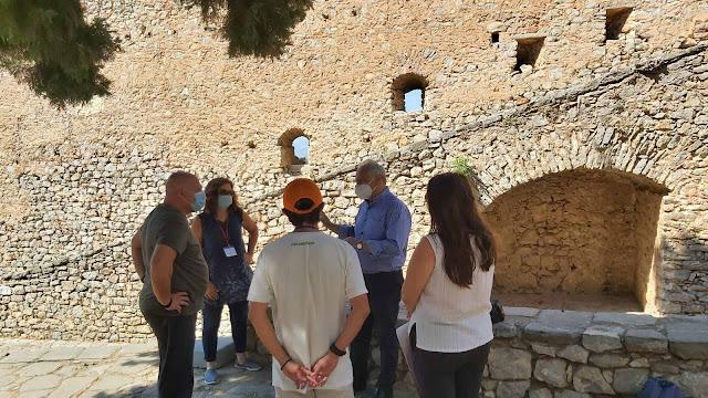 Συνάντηση Ανδριανού στους αρχαιολογικούς χώρους των Μυκηνών και του Παλαμηδίου με συμβασιούχους φύλαξης και καθαριότητας