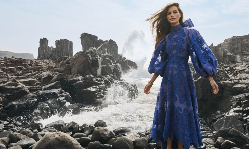 Zimmermann features Brightside gown in spring 2020 campaign