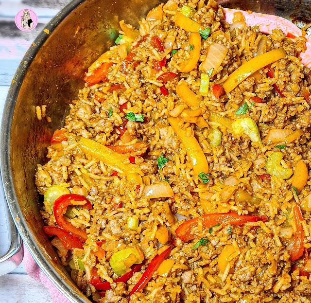 Smoky BBQ Pork Dirty Rice Recipe | Slimming Recipe