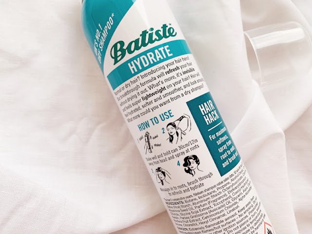 Batiste Instant Hair Refresh Dry Shampoo & Hydrate Review