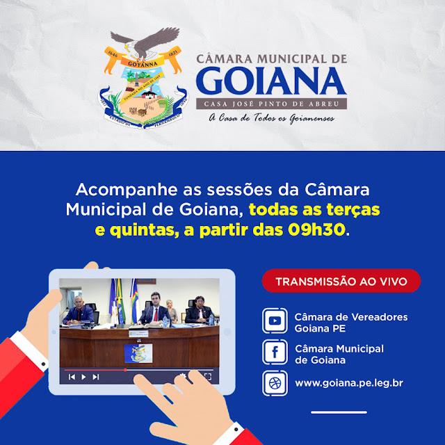 Sessões da Câmara Municipal passam a ser transmitidas ao vivo também pelo Facebook