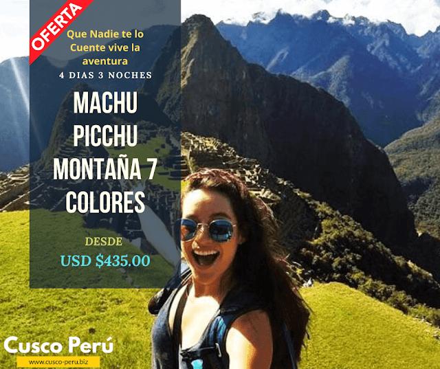 Tour machu picchu - Montaña 7 Colores