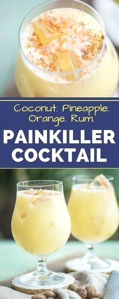 THE PAINKILLER DRINK COCKTAIL