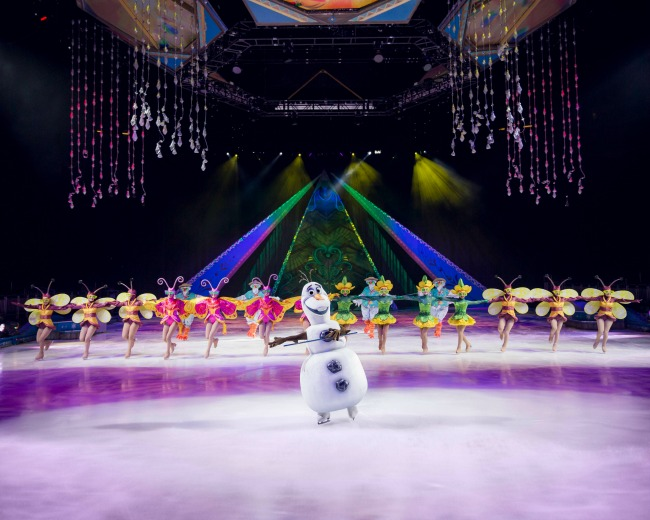 Disney on Ice Frozen review for families