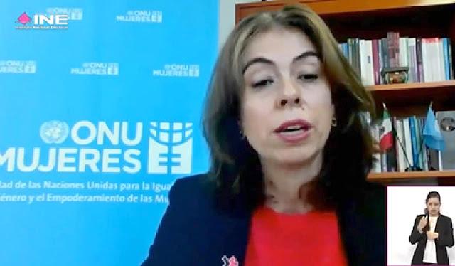 representante de ONU Mujeres en México, Belén Sanz Luque