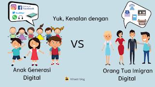 anak generasi digital