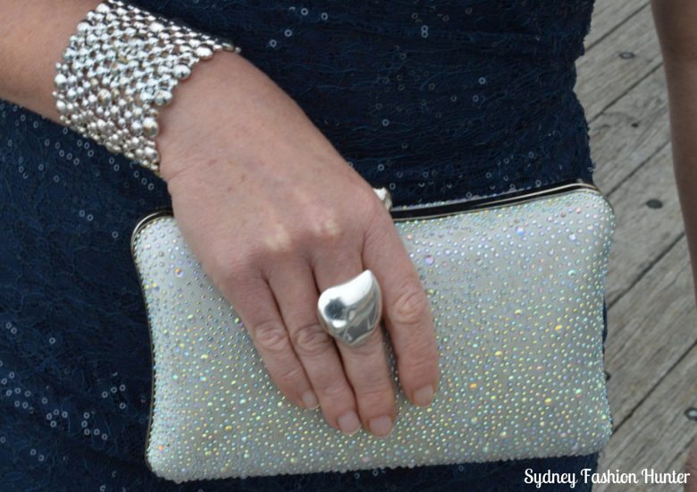 Crystal Clutch, Georg Jensen Heart Ring, Colette Cuff