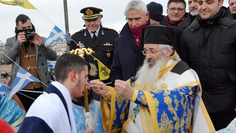 Με μεγαλοπρέπεια εορτάστηκαν τα Θεοφάνεια στην Αλεξανδρούπολη