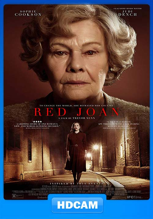 Red Joan 2019 720p HDCAM x264 | 480p 300MB | 100MB HEVC