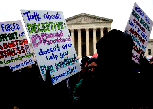 Supreme Court rules against California law targeting anti-abortion pregnancy centers