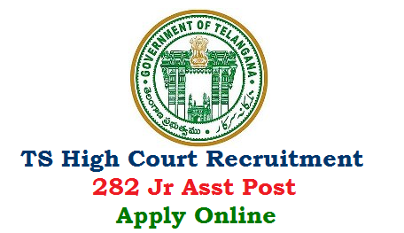 "Applications are invited through ONLINE for direct recruitment to the posts of Junior Assistant in the Judicial Districts of State of Telangana in the Telangana Judicial Ministerial Service as per the Telangana Judicial Ministerial and Subordinate Service Rules, 2018, carrying scale of pay of Rs.16,400 - 49,870. The online application portal will be available in the High Court's official website ""hc.ts.nic.in"" and also in the websites of all the District Courts in the State of Telangana from 05-08-2019 to 04-09-2019. The Last date for submission of application through online is 04-09-2019 upto 11.59 p.m. telangana-high-court-junior-assistant-282-vacancies-recruitment-apply-online"