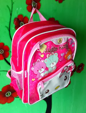 5e527153da CosmoBunda  HK (HELLO KITTY) RIBBON BEAR PINK SATEN TAS RANSEL ...