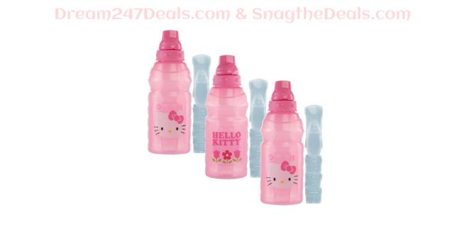 3pk Hello Kitty ChillPak 16oz Water Bottles - Leak Proof Chill