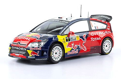 WRC collection 1:24 salvat españa, Citroën C4 WRC 1:24