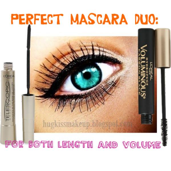 7c6886f71da hug, kiss, makeup!: Perfect Mascara Combination: length and volume!