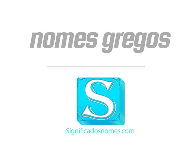 Nomes Gregos para Meninas