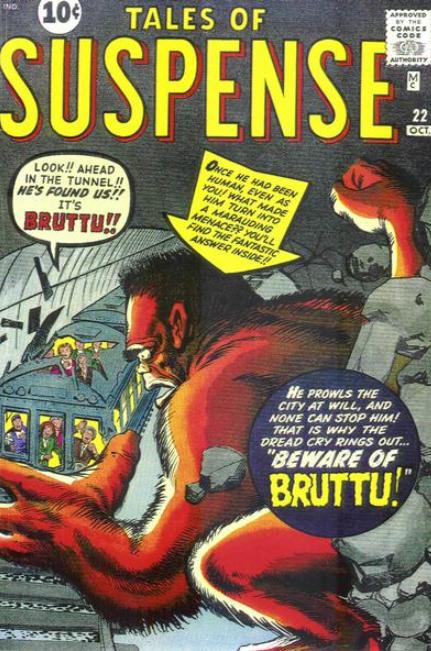 Tales of Suspense Jack Kirby