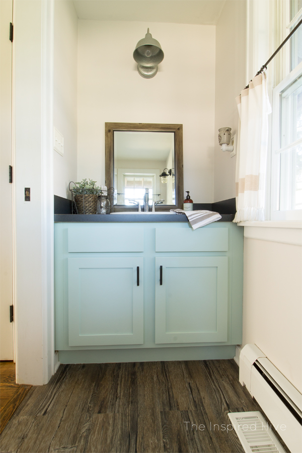 Easy Powder Room Updates The Inspired Hive - Easy bathroom updates