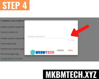 how to do on page seo in blogger