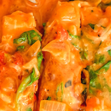 Chicken Breast in Roasted Pepper Sauce