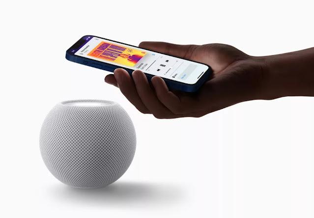 Desain Apple HomePod Mini