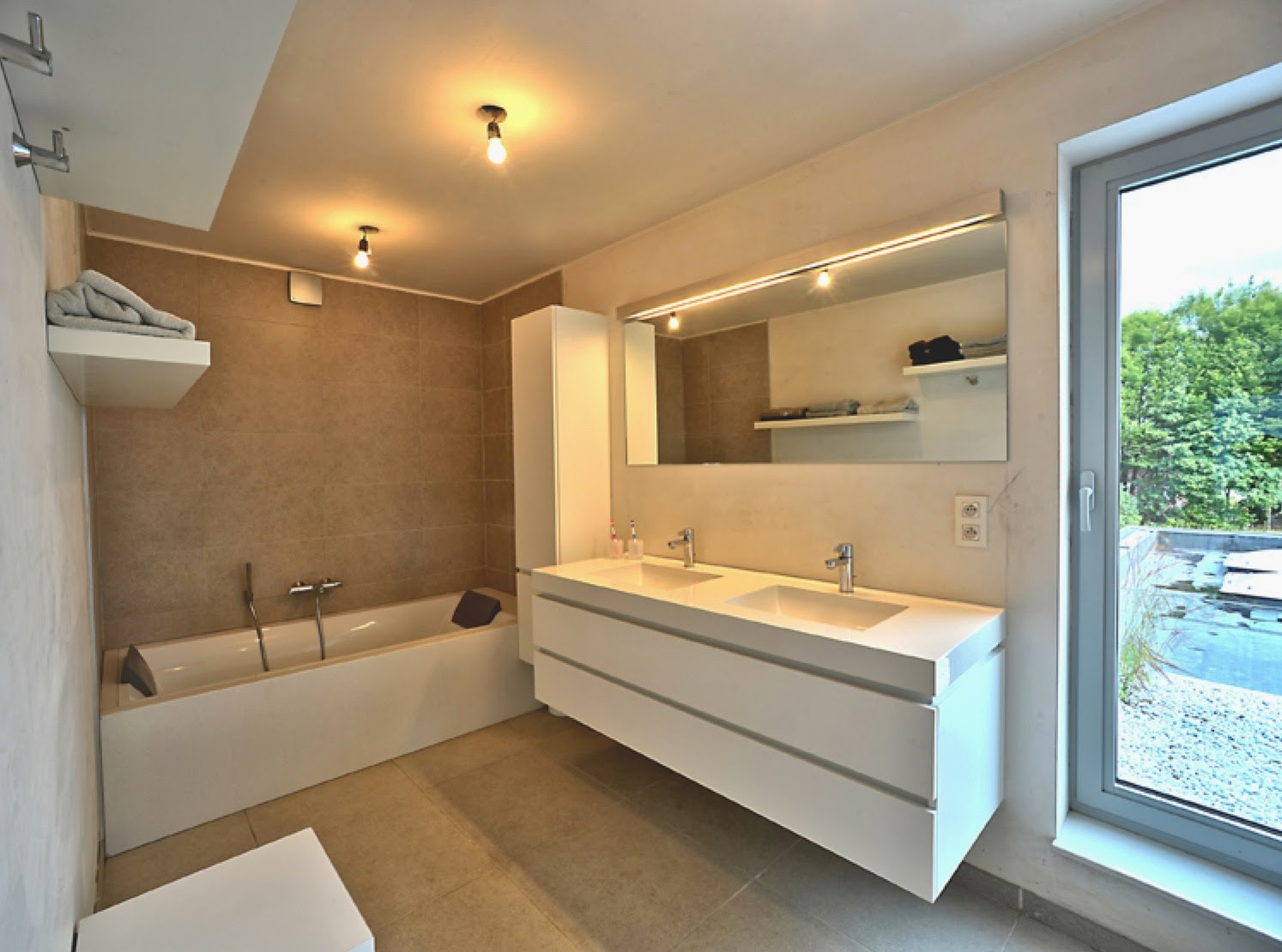 Realisaties interieur badkamers interieurbouw claesen for Interieur badkamer