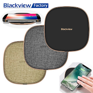 Wireless Charger Blackview W1 Original Q1 Fast Charging 10W