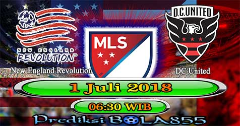 Prediksi Bola855 New England Revolution vs DC United 1 Juli 2018
