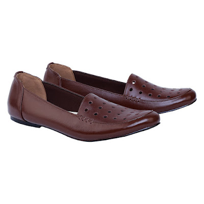 Sepatu Flat Kulit Wanita Catenzo HA 111