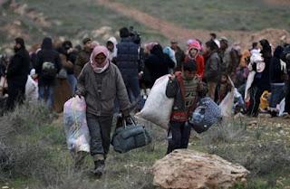 Pilotnya Tertawan, Rezim Syiah Suriah Tangkapi Pengungsi Dier Zour